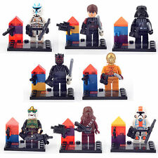 Hot sales STAR WARS 7 Minifigures Series 8 FIG Weapon Building Bricks toys LEGO