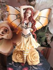 FAIRY SITE Amy Brown  AZALEA ROSE FAIRY FIGURINE by MUNRO makers of FAERIE GLEN