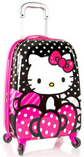 Heys America Luggage Hello Kitty Expandable Spinner Carry On - Pink