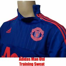 Man Utd Training Top AC1493 Blue Size X/Small