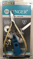 Zinger Premium Cobalt coated, nail, manicure, cuticle nipper