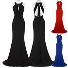 Long Celebrity Evening Formal Party Ball Gown Prom Bridesmaid Dress UK Size 4~18