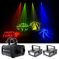 American DJ ADJ GOBO PROJECTOR IR LED Light + (2) Strobe Lights