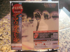 ROLLING STONES MORE HOT ROCKS JAPAN OBI REPLICA SET WITH RARE ORIGINAL STICKERS