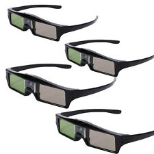 4XRF Bluetooth Active Shutter 3D Glasses For Epson 3020E 5020 TW8515 Projecotor