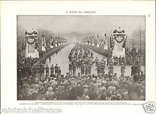 London Buckingham Palace Tommy British Army UK Dunkerque WWI 14 18 PLANCHE 1929