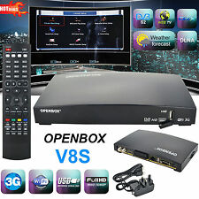 New Openbox V8S Digital HDTV Satellite Receiver Box PVR Freesat Channel Box HD