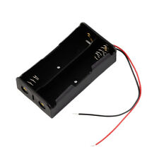 Hotsale Battery Storage Case Plastic for 2 x 18650 Box Holder With Wire Leads