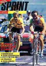BERNARD HINAULT GREG LeMOND Tour de france 86 LAURENT FIGNON cycliste magazine