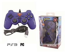 Controller joy pad SUPERMAN Playstation 3 - PC analogico doppia vibrazione 90319