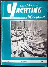 BATEAUX VOILES PLAISANCE LES CAHIERS DU YACHTING N° 136 de 1963 PLAN L OCEAN