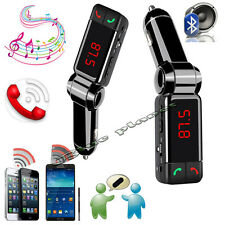 Fm Bluetooth Transmisor Mp3 Player Kit de coche Y Cargador Usb Para Iphone 4 5 5s 6 +