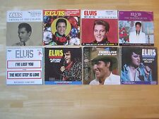 Elvis Presley 45rpm Records with Picture Sleeves, Lot of (8)