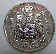 1978 CANADA 50 CENTS SPECIMEN HALF DOLLAR