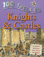 100 Facts Knights and Castles by Jane Walker Children's Book (NEW)