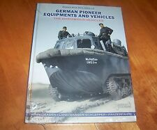 GERMAN PIONEER EQUIPMENT AND VEHICLES Amphibious WWII Nazi Germany Army Book NEW