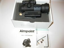 AIMPOINT PRO PATROL 12841   SCOPE OPTIC,NIB,WITH MOUNT, FREE REAR FLIP SIGHT,