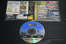USED SEGA RALLY CHAMPIONSHIP 1995 SEGA SATURN JAPANESE IMPORT