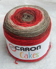 """Caron Cakes in """"RED VELVET"""" - New, Smoke Free Home Worsted Wt Yarn"""