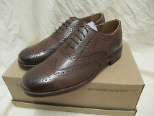 MENS TOP QUALITY ALL LEATHER BROGUE  SIZE 9