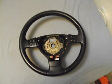 06 VW JETTA GOLF JETTA GOLF  STEERING WHEEL *PERFECT*3 SPOKE LEATHER*