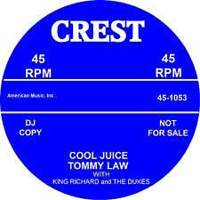 COOL JUICE / SPEED LIMIT  Tommy Law *HOT ROCKABILLY*