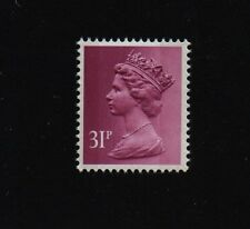 STAMPS MACHIN 31p 2 BAND SG X919  Prestige Booklet  DX7