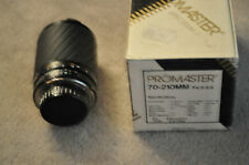 PROMASTER SPECTRUM 7 MINOLTA MD 70-210MM F4-5.6 LENS
