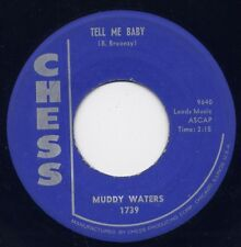 "MUDDY WATERS - ""TELL ME BABY"" b/w ""RECIPE FOR LOVE"" on CHESS (VG++)"