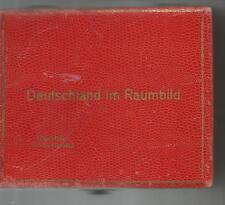 106 Raumbild 3-D Stereoviews/Stereoviewer in Box- German Provinces-Not Complete
