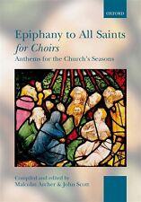 Epiphany a todos los Santos para coros (de Bolsillo)