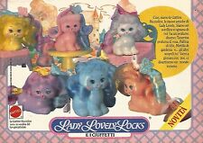 X1351 Lady Lovely Locks - Mattel - Pubblicità del 1989 - Vintage advertising