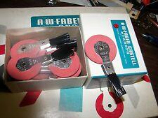 Vintage A.W. Faber Castell  Typewriter Wheel + Brush Eraser Dozen Box 7084B NOS