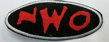 NEW WORLD ORDER COLLECTABLE RARE VINTAGE PATCH EMBROIDED 90'S WRESTLING WCW NWO