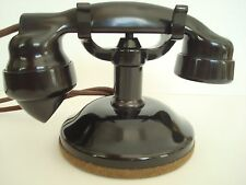 Antique 1920s  Original Stromberg Carlson telephone Round base 1177