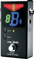 Fzone PT-01 PEDAL TUNER for GUITAR BASS CHROMATIC true bypass floor new effects