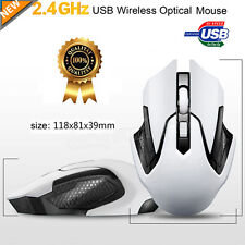 2.4GHz Wireless 3200DPI Gaming Mouse Mice USB Ricevitore Pro Gamer Per PC Laptop