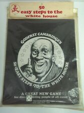 GODFREY CAMBRIDGE'S POLITICAL Satirical GAME 50 EASY STEPS TO THE WHITE HOUSE