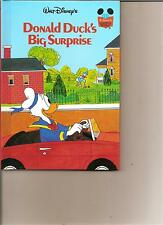 DISNEYS DONALD DUCK'S BIG SURPRISE BOOK KIDS DISNEY