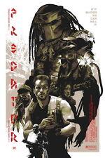 """008 Predator - Arnold Schwarzenegger Beat Monster Hot Movie 24""""x36"""" Poster"""