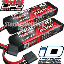 Traxxas iD Power Cell LiPo 11.1V 3-cell 5000mAh 25C Batteries TRA2872X 2 Pack