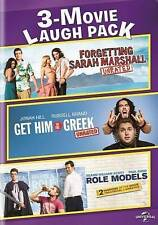 3-Movie Laugh Pack:Forgetting Sarah Marshall / Get Him to the Greek / Role(D242)