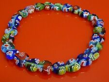 Millefiori Bracelet, Small Heart Rainbow Fashion Jewellery