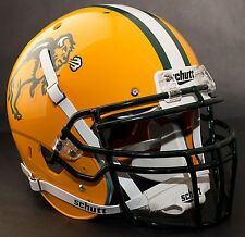 *CUSTOM* NORTH DAKOTA STATE BISON Schutt XP AUTHENTIC Football Helmet w/ROPO-DW