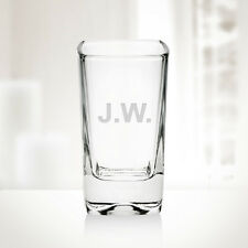 Personalized 2.75 oz Tall Square Shot Glass