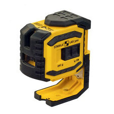 Stabila LAX 300 - Cross Line Laser Level With Plumb Points