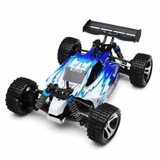 4WD 2.4G High Speed Buggy Remote Control RC RTR Racing Car Off Road 50km/h Blue