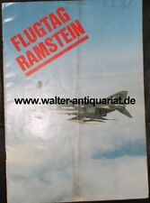 Flugtag 1981 Ramstein Airbase Germany Programm Airforce Luftwaffe program