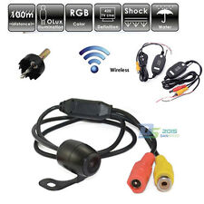 Wireless Waterproof 170° Cmos Car Rear View Reverse Backup Parking Camera Cam HD