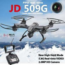 JXD 509G 2.4G 4CH 6-Axis Gyro 5.8G FPV RC Quadcopter with 2.0MP HD Camera F9F0